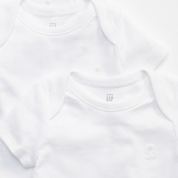 2 Baby Gap First Favorites sz 6-12months bodysuits